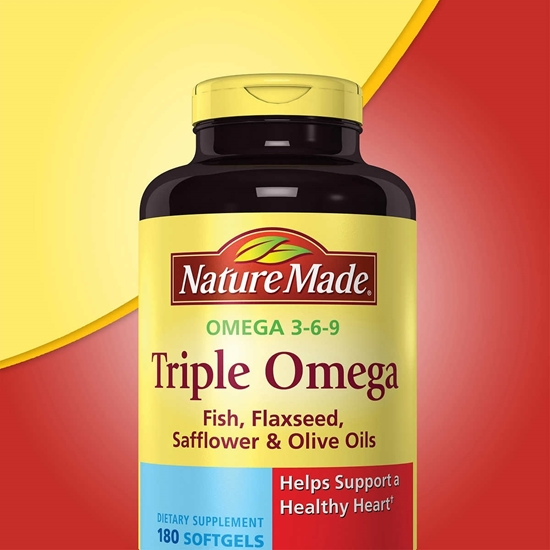 Nature Made Triple Omega 3 6 9 180 Vien