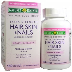 Hair Skin and Nails 5000 mcg biotin 250 viên