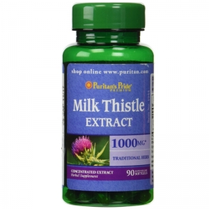 Puritans Pride Milk Thistle Extract 1000mg 90 viên